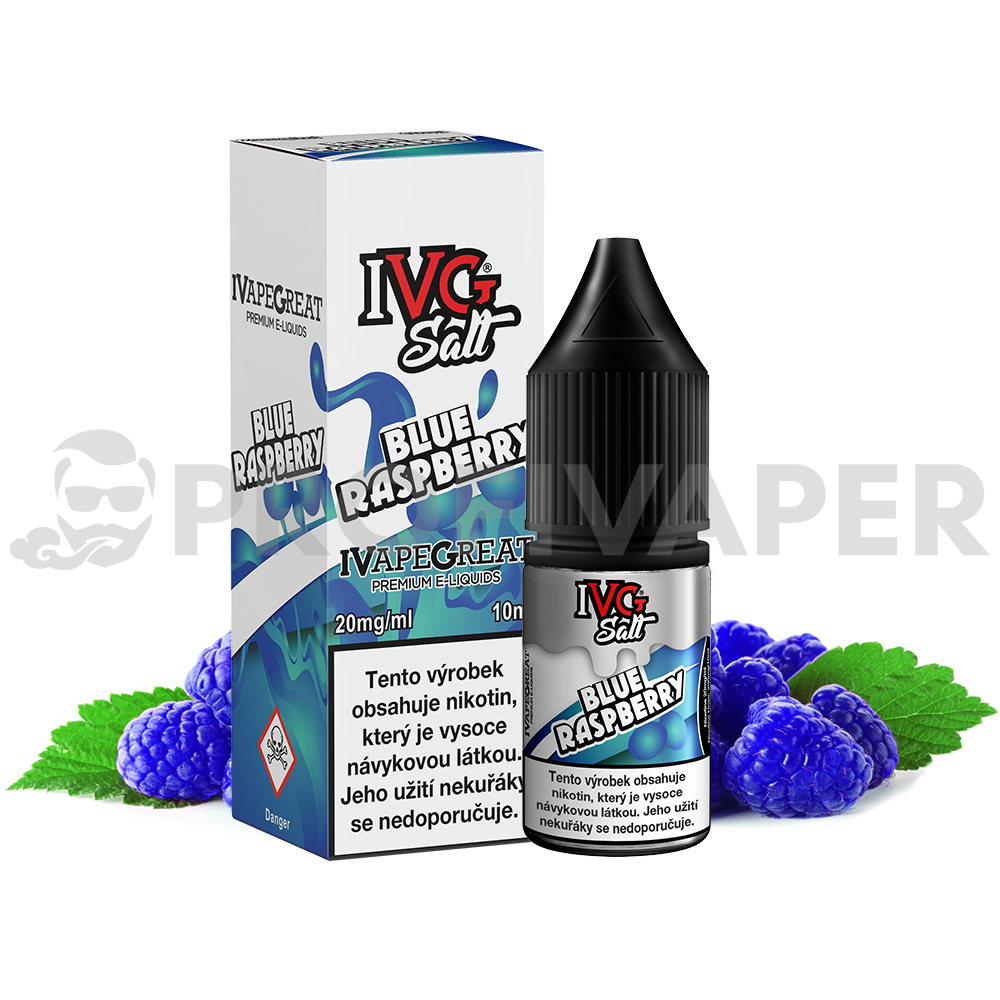 IVG Salt Modrá malina (Blue Raspberry)