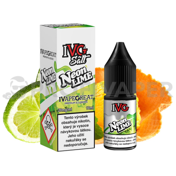 IVG Salt Citron a limetka (Neon Lime)