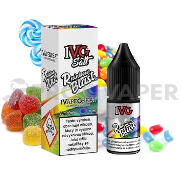 IVG Salt Exotická směs (Rainbow Blast)