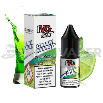 IVG Salt Energetický nápoj a limetka (Green Energy)
