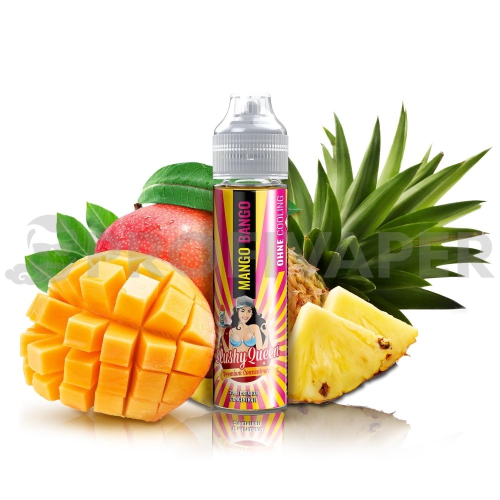 PJ Empire - Mango a ananas (Mango Bango) NO ICE - Slushy Queen